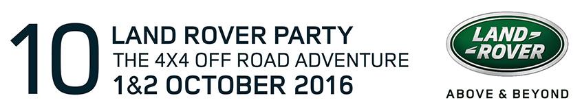 Folleto Land Rover Party 2016