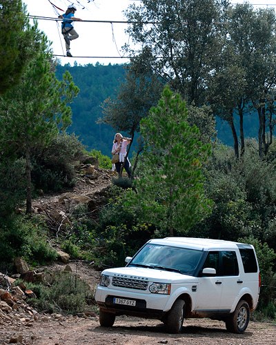 adventure circuit - land rover party