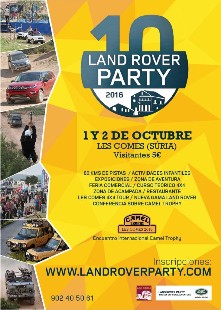 Land Rover Party 2016 - ES