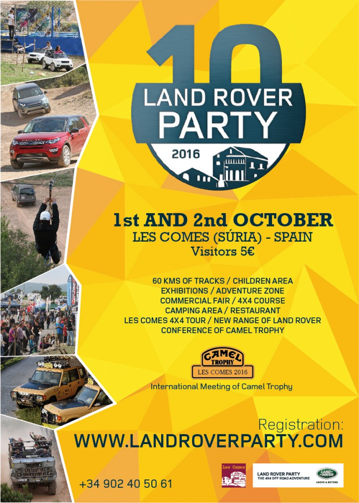 Land Rover Party 2016 - FR